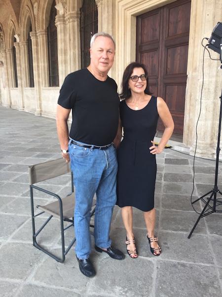 Serena Ucelli e Bob Wilson 1