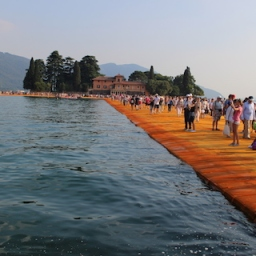 A ponte flutuante de Christo – Entrevista 2016