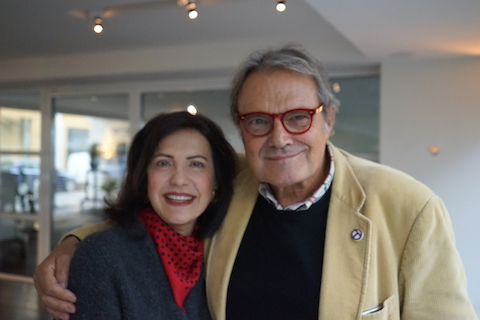 Oliviero Toscani by Serena Ucelli