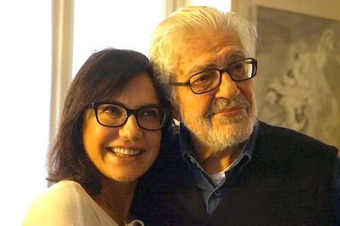 Ettore SCOLA com Serena Ucelli di Nemi
