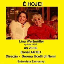 Entrevista Exclusiva com Lina Wertmüller