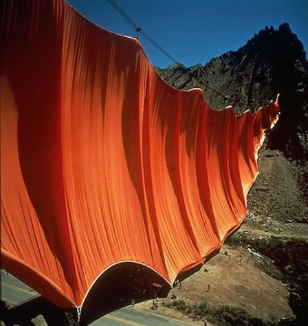 valley-curtain_Christo e Jeanne Claude_Serena Ucelli