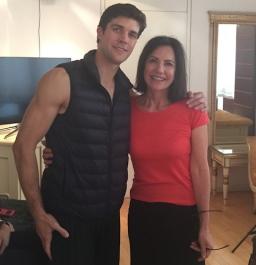 É Hoje! Entrevista exclusiva de Serena Ucelli com Roberto Bolle