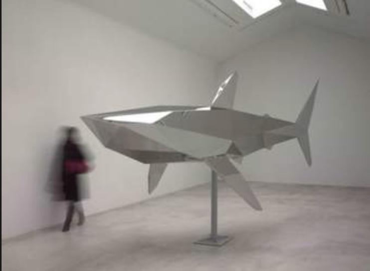 Shark Xavier Veilhan_Serena Ucelli