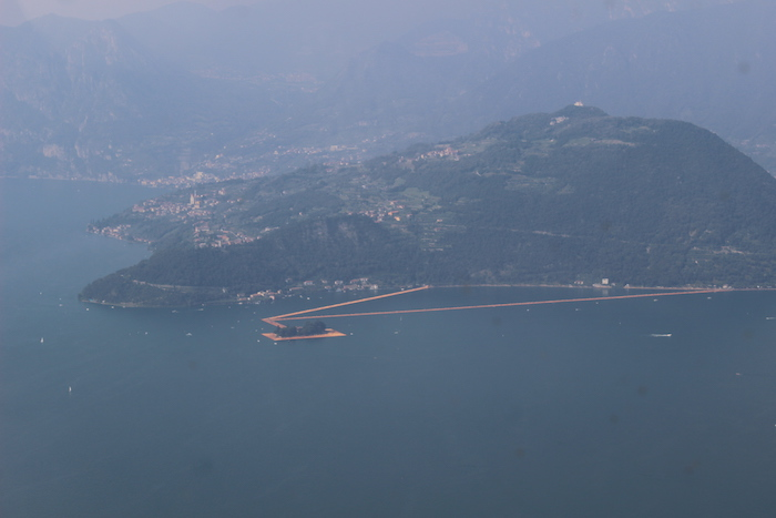 Christo Lago Iseo by Serena Ucelli 8429