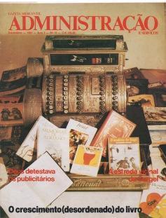 1981:12 Capa Revista Administração