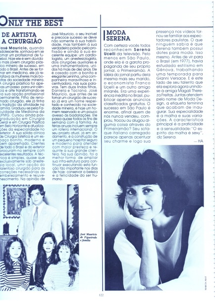 1987 materia Revista Interview