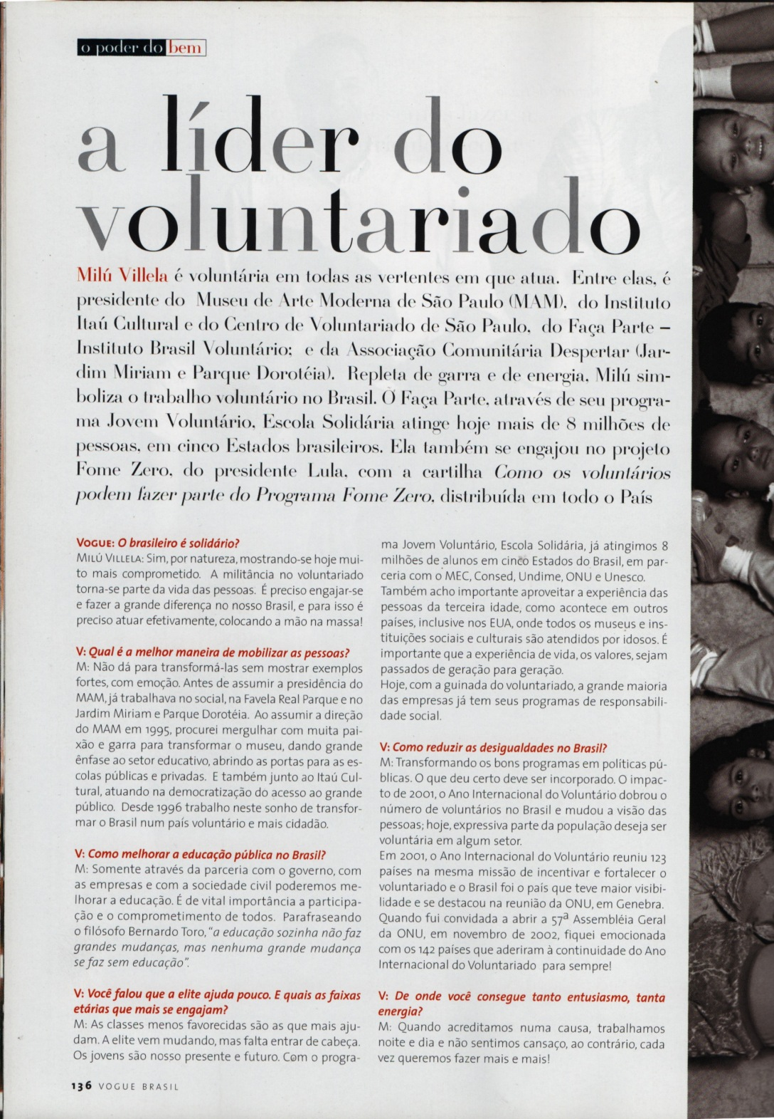 2003 Vogue Milu Vilela